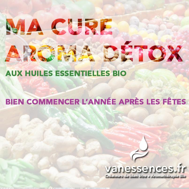 ma cure aroma detox aux huiles essentielles